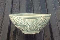 Adam Field style carved bowl