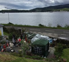Workshop setting along the Holy Loch in Kilnun
