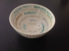 Commemorative bowl