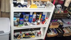 tapes, sprays, tools