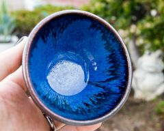 Tenmoku and Blue Chun Bowl