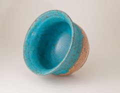 Inside Turquoise Stacking Bowl