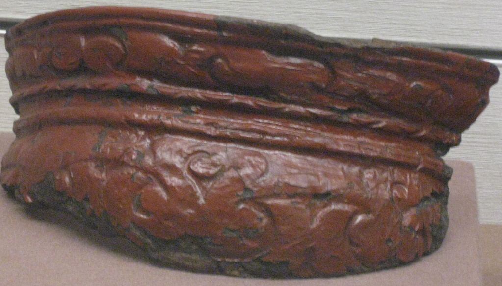 Middle Jomon Lacquer on Clay