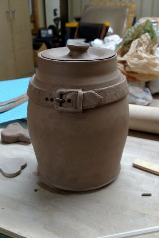 Lidded Container - Dog Treats