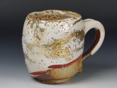Burnish Gold Luster Mug