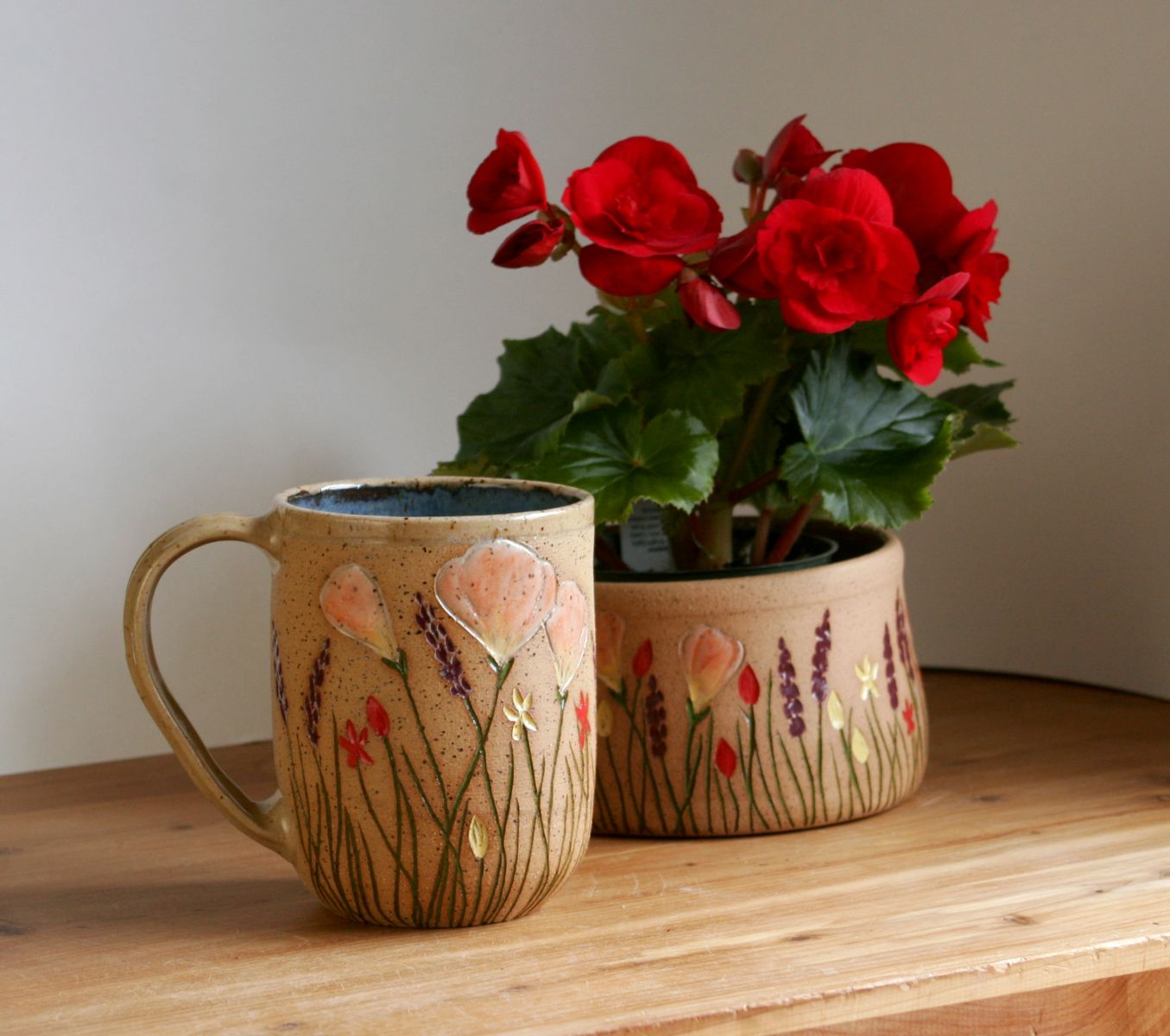 Wildflower Mug and Planter