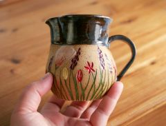 Wildflower Cream pitcher