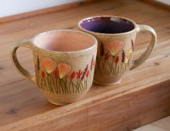 Wildflower Mugs