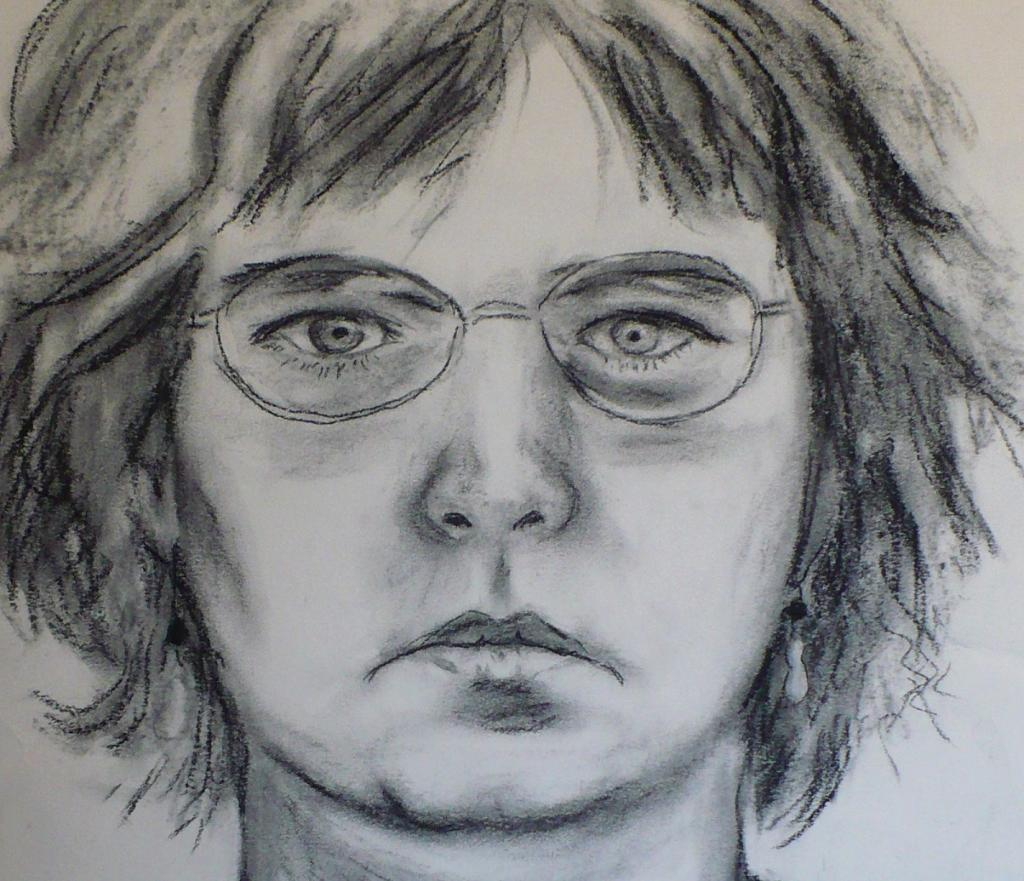 Ann Charcoal Drawing circa 2008 Or 2009