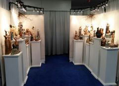 Booth Shot for 2014 Piedmont Craftsmen Fair held in November