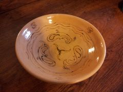 Pisces sign On bowl