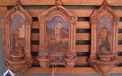 set of sconces