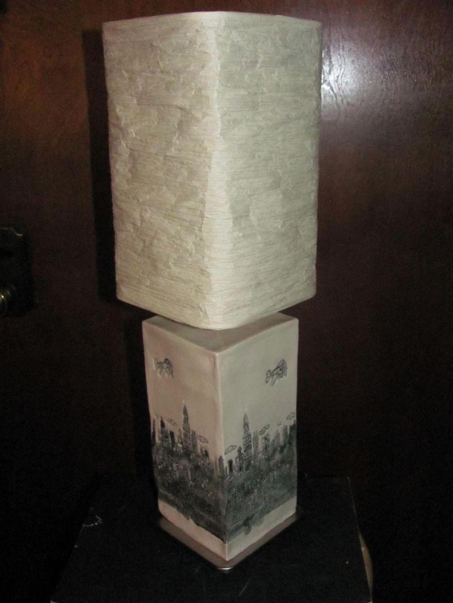 third in the series Luminary lamps