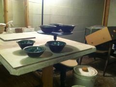 Finished bowls