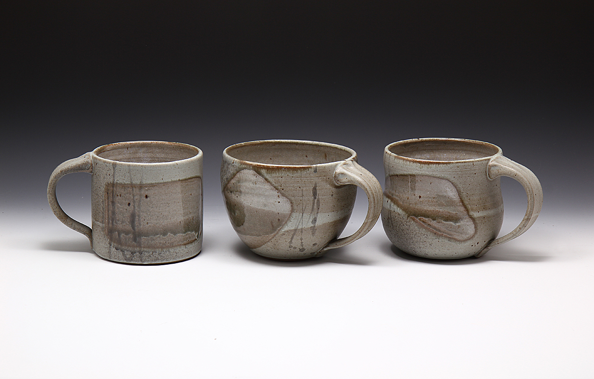 Three mugs