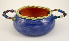 Bead Handled Bowl