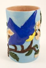 blue Bird Utensil Holder
