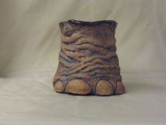 Elephant foot vessel