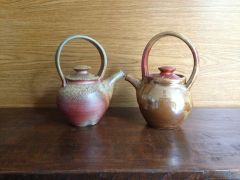 Wood And Gas Teapots
