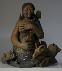 Sacred Beings: Fertility (with the lamp lit)
