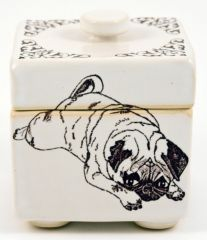 Square Pouty Pug Box