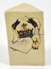 Triangle Letter Pug Box