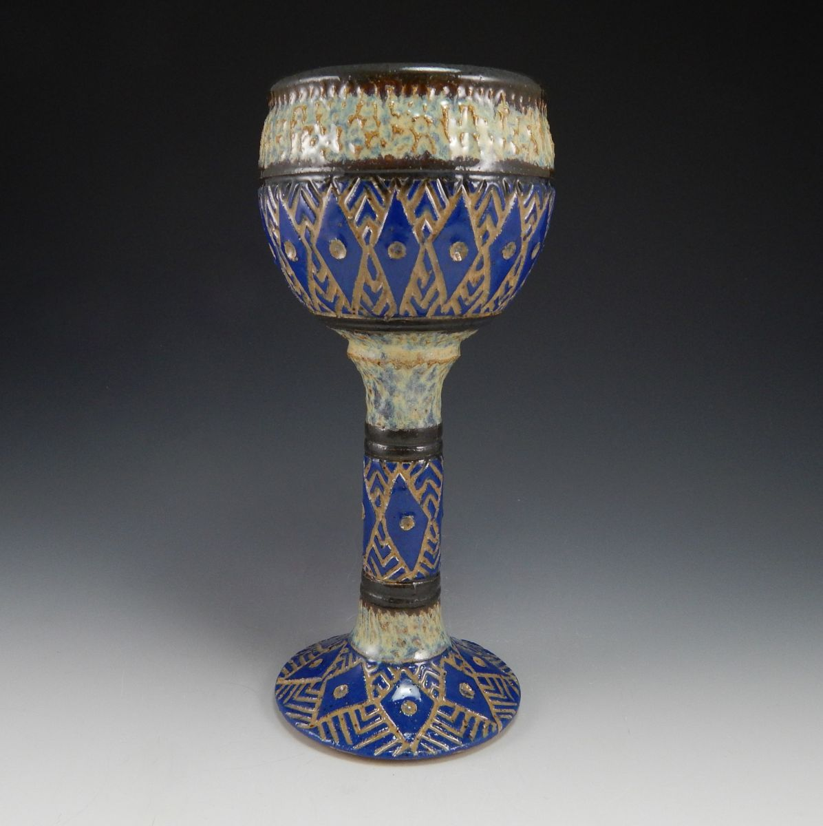 sgraffito diamond goblet (7)