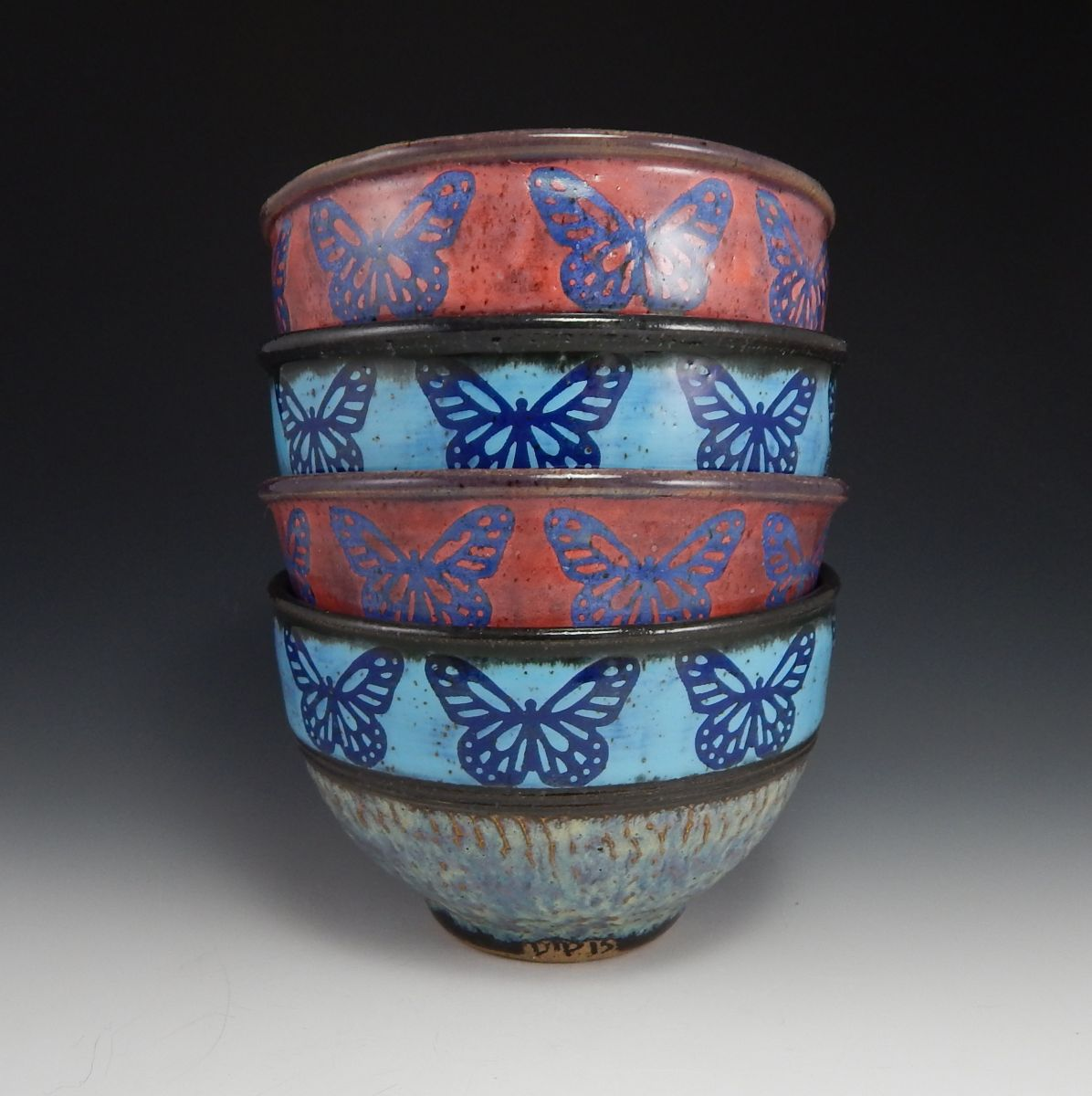 butterfly bowl stack