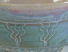 Detail from Green Fire bowl