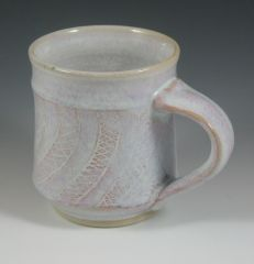 mug with red slip and sgraffito
