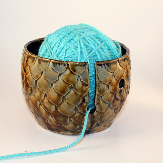 Dragon's Egg Yarn Bowl #2