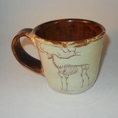 Elk skeleton Mug
