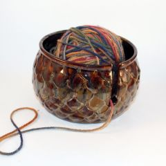 Dragon's Egg Yarn Bowl #1