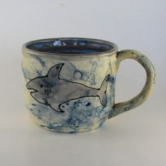 bubble shark Mug