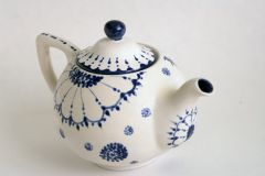 Bisque Imports teapot