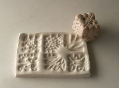Six sided cube stamp