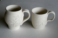 Leaves and berries mugs