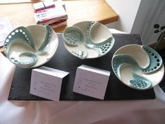 Shell Bowls Inspired by Clare Wakefield