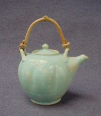 teapot cane pillowed