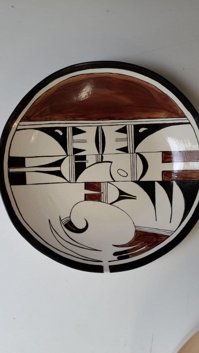 Art deco bowl