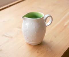 Colonial White Cream Pitcher