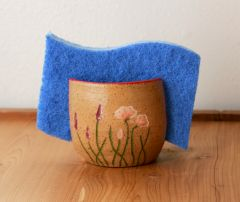 California Wildflowers Sponge Holder