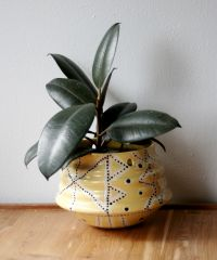 Hanging Planter, Modern Geometric Design