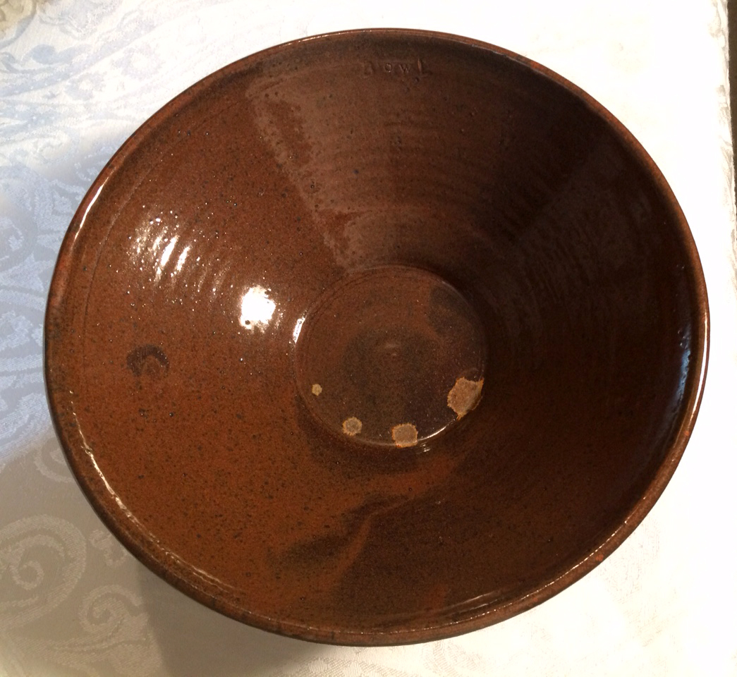 Bowl brown bowl