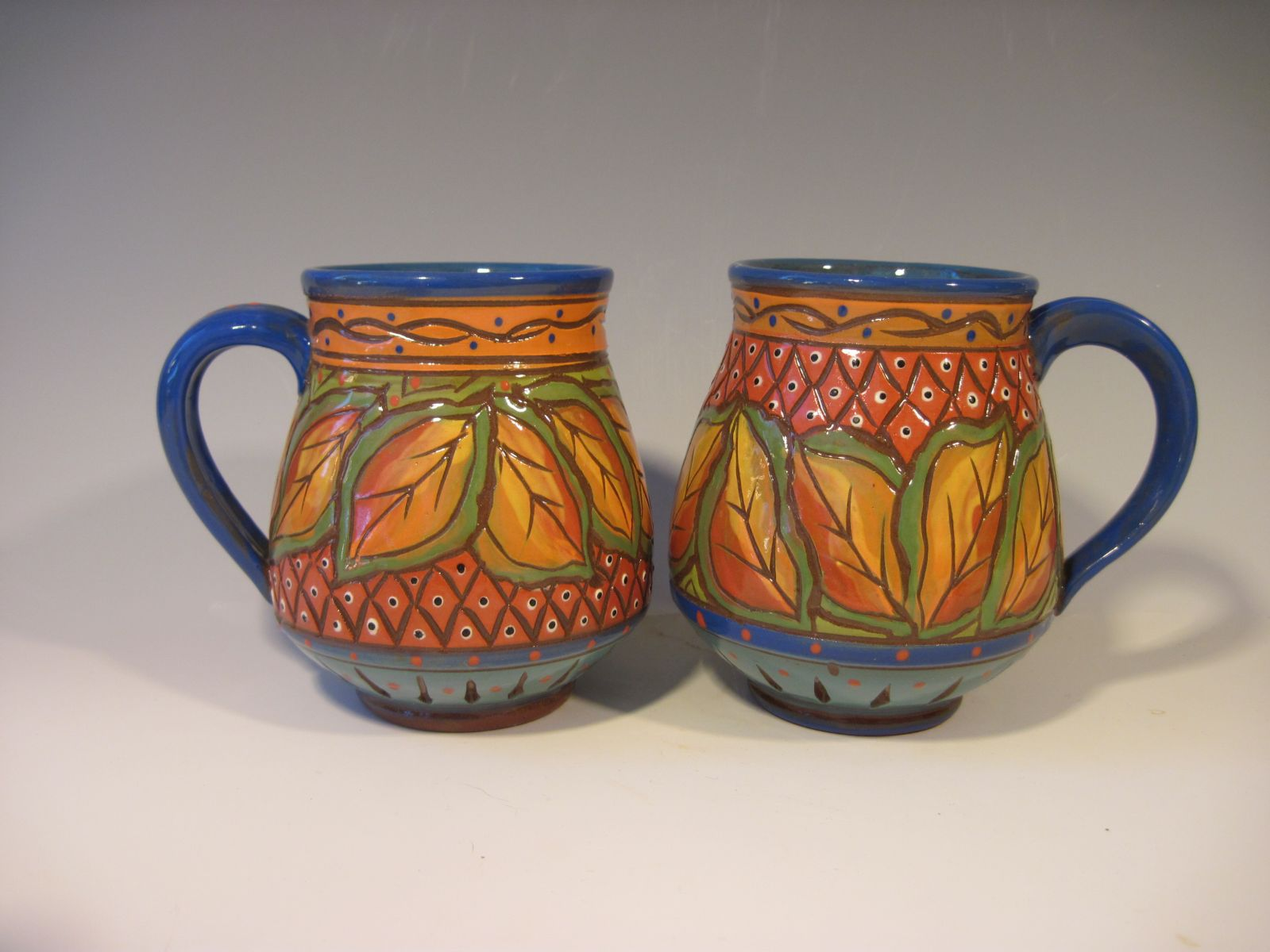 029  Autumn Leaves Mugs