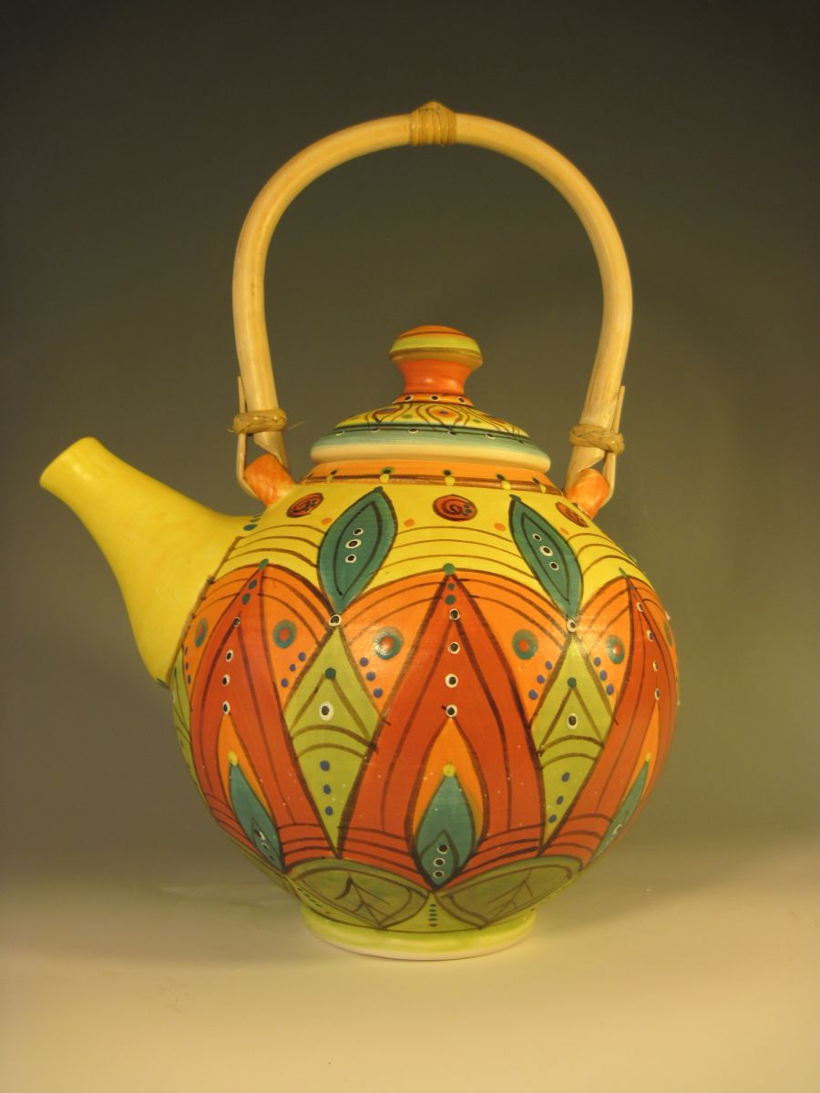 003 Red Bud Teapot