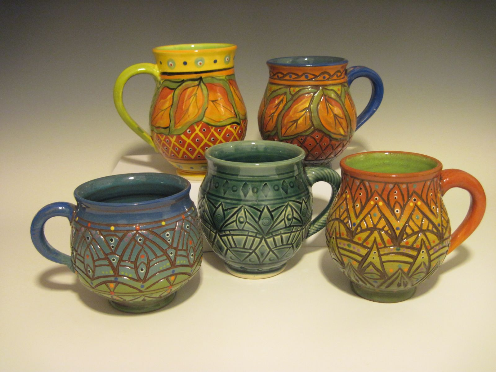 Mugs, mugs and more mugs!!