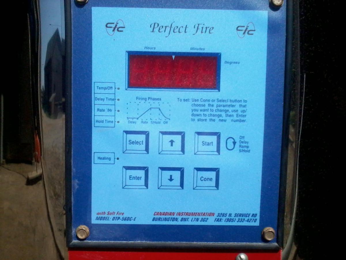 Perfect Fire Kiln Wiring Diagram Free Download Pid Controller Programing Evenheat For Bisque Clay And Glaze Electrical At