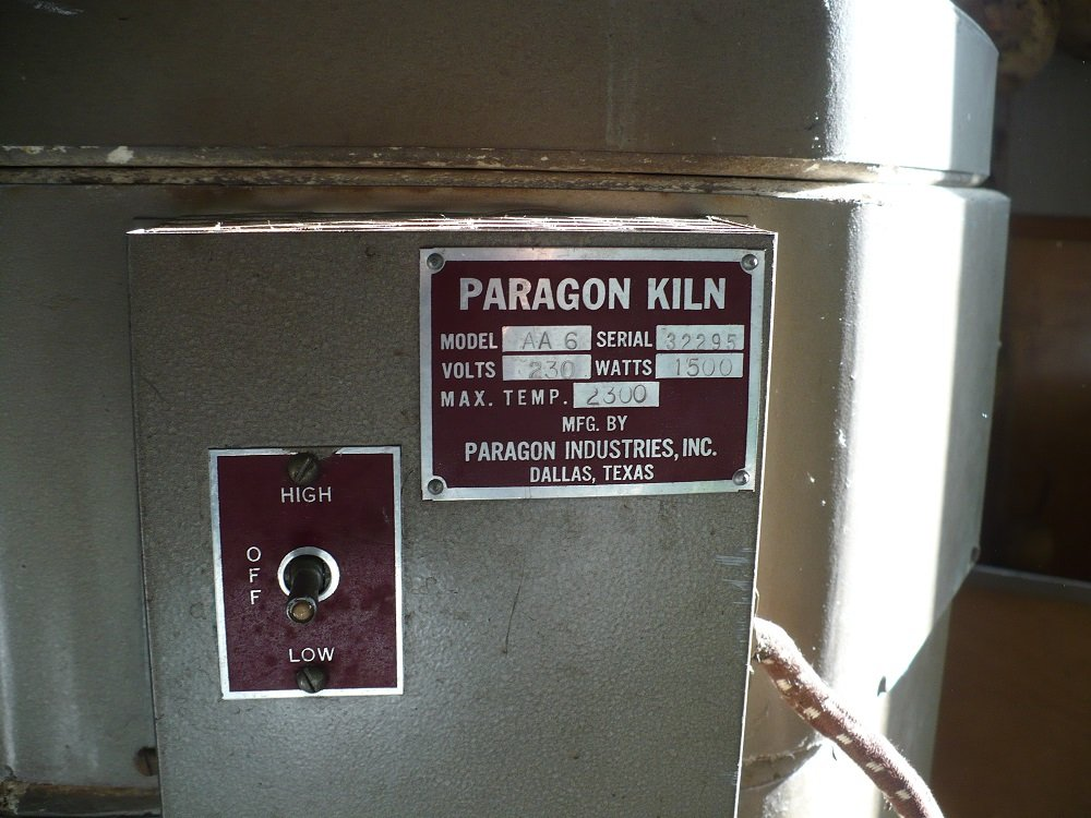 Paragon info plate closeup w serial number volts temp model number.jpg