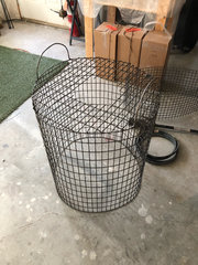 top cage assembled